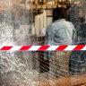 Drunk man steals three-tonne truck, crashes into CBD cafe: police