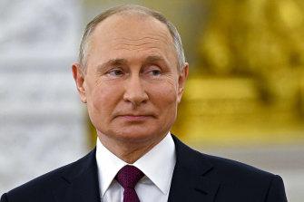 Russian President Vladimir Putin has cracked down on charities.