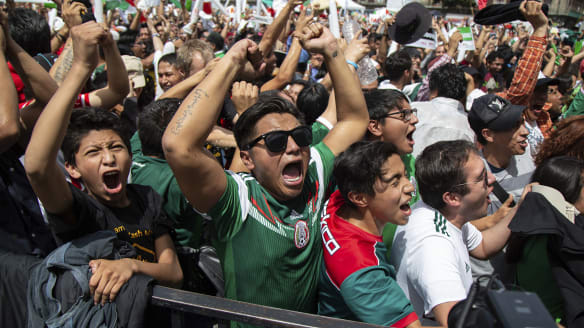 Mexican goal celebrations set off earthquake detectors in Mexico