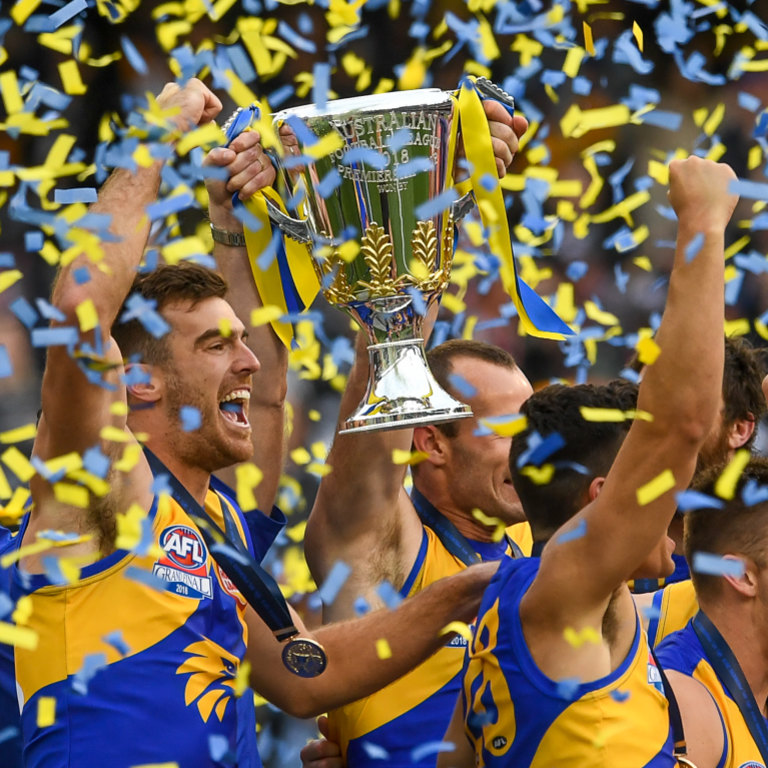 Reigning premiers West Coast have just the seventh best list in the league, according to former list manager Chris Pelchen.
