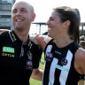 Pies finish on a high, coach wants another year with AFLW team in 2020
