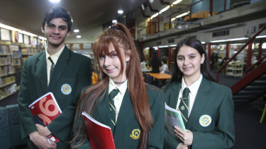 Students at Merrylands High have embraced a new HSC numeracy course