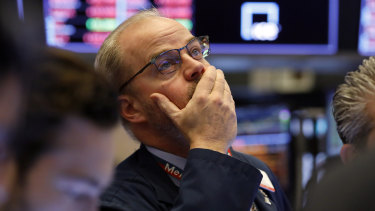 The S&P 500 dropped more than 2 per cent in early trading on Friday.