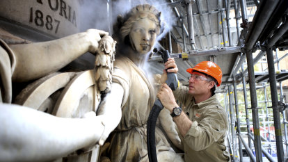 GPO's 'petrified marionettes' get facelift from new hotel owner