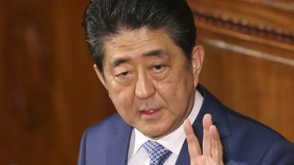 Japan's Shinzo Abe finds himself out of step over North Korea