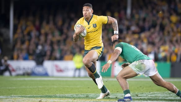 Israel Folau coy on Reds move speculation