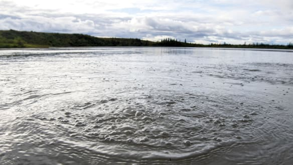 Across the Arctic, lakes are leaking dangerous greenhouse gases