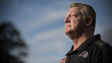 Gone ... Panthers coach Phil Gould denies he has been forced to quit the club after eight years.