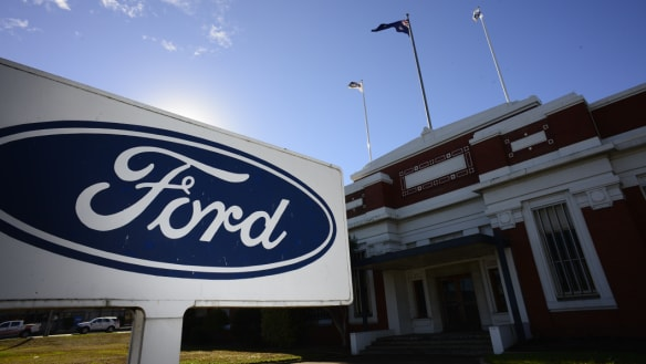 Ford moves to sell its Australian manufacturing plants