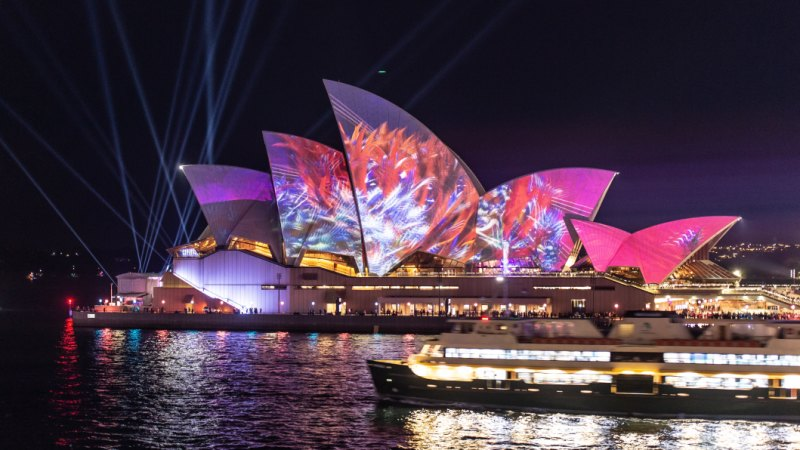 Health Insurance Companies >> Vivid 2019: Artist behind Opera House projection had never seen the sails before