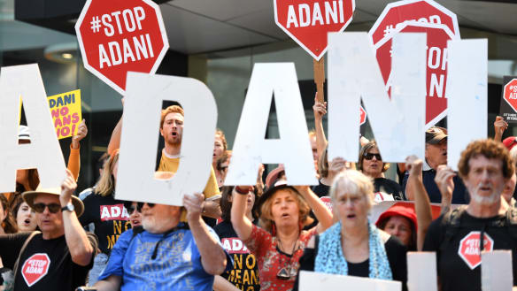 Documents show Australian and South Korean officials discussed financing Adani mega-mine