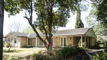 A property in Pymble, which the council is proposing to be inside the heritage conservation area.