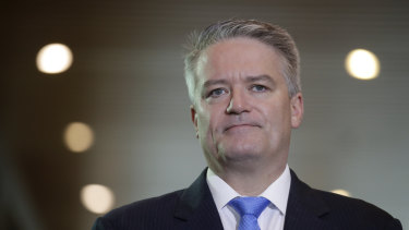 Finance Minister Mathias Cormann said the first responsibility for bailing out a company lies with its owners.