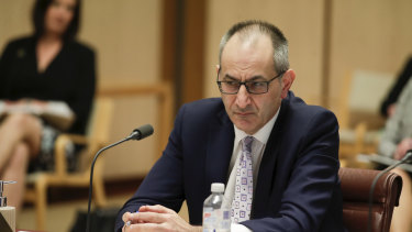 Department of Home Affairs Secretary Mike Pezzullo says Australia should start stockpiling emergency supplies.