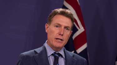 Attorney-General Christian Porter is close to finalising his wage theft bill.