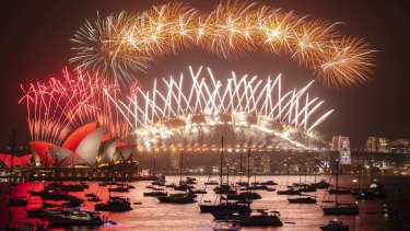Sydney's New Year's Eve fireworks extravaganza ushers in 2020.