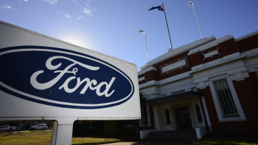 Geelong's old Ford plant.