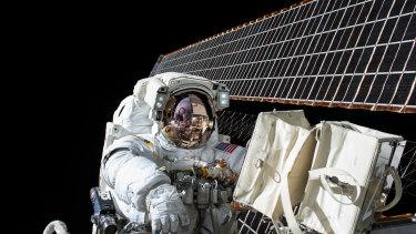 Pictured: NASA astronaut Scott Kelly.