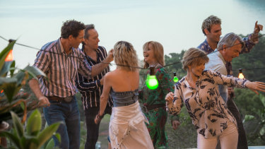 Palm Beach's glittering cast includes Richard E. Grant, Heather Mitchell, Jacqueline McKenzie and Sam Neill.