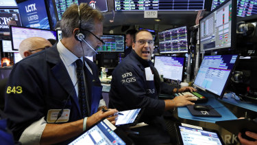 Wall Street fell lower on Monday.