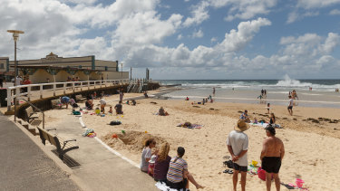 Newcastle is forecast to reach a sunny 29 degrees on Christmas Day.