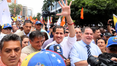 Venezuelan opposition leader Juan Guaido is recognised by many members of the international community as the country's rightful interim ruler.