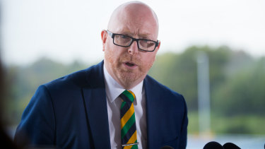 St Kevin's College's new principal, John Crowley.