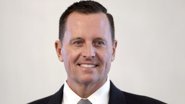 Big entrance: New US ambassador to Germany, Richard Allen Grenell.