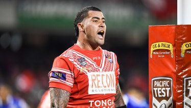 Andrew Fifita is leading a player boycott against Tonga, meaning Israel Folau will have to cross the picket line to play.