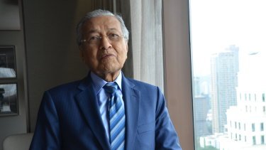 Malaysian Prime Minister Mahathir Mohamad has been named as a respondent.