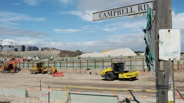 Construction of the WestConnex toll road has faced stiff opposition from many residents in Sydney's inner west.