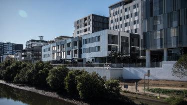 Sydney's median house price has finally begun to drift lower.