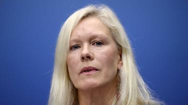 Recalled: Anna Lindstedt,Sweden's ambassador to China.