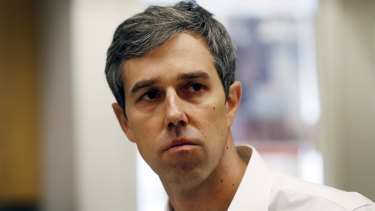 Presidential candidate Beto O'Rourke has been targeted by Conway.