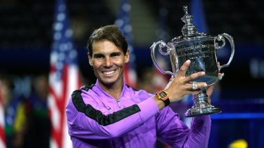 Nadal's US Open victory has brought him within one title of Federer's all-time mark.