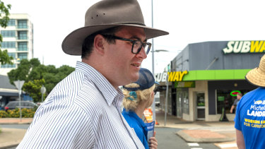 LNP MP for Dawson, George Christensen: Working hard for the money and the presents for the missus