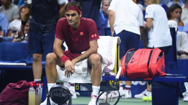 Gracious: Greatest of all-time, Federer was a gentleman in defeat.