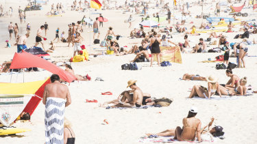 Beaches in Waverley were closed in late-March after crowds at Bondi Beach drew criticism for failing to comply with social distancing measures.