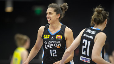 Marianna Tolo made a triumphant return.