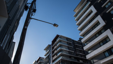 Housing development in Canterbury in Sydney's inner west.