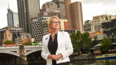 Lord mayoral candidate Sally Capp wants a High Line park in Melbourne.