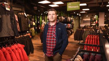 Kathmandu CEO Xavier Simonet said the company was preparing to reach into the North American market.