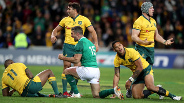 Ireland tied the series 1-1 in Melbourne after dominating the Wallabies.