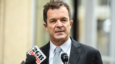 Attorney-General Mark Speakman.