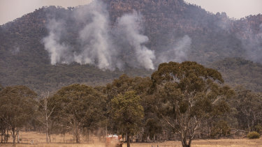 The Gospers Mountain Fire will begin to impact the township of Glen Davis over the coming days.