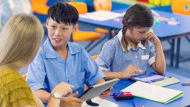 Schools have noted the positive impact of tutoring during face-to-face learning.