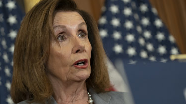 US House Speaker Nancy Pelosi has previously resisted calls to launch impeachment proceedings against the President.
