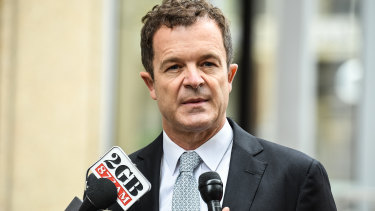 """Attorney-General Mark Speakman said recommending the inquiry to the NSW Governor had been """"an immensely difficult decision""""."""