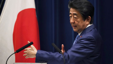 Japanese Prime Minister Shinzo Abe now believes the Games cannot be held safely on their original dates.