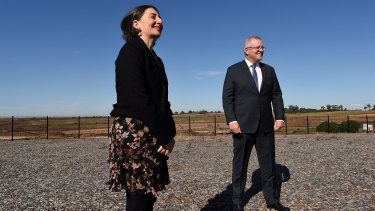NSW Premier Gladys Berejiklian and Prime Minister Scott Morrison say construction of the $11 billion metro line to Western Sydney Airport will start this year.